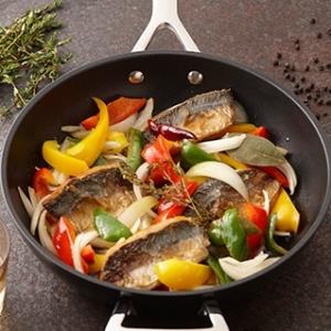 [ル・クルーゼ公式] 鯵と夏野菜の南蛮漬け
