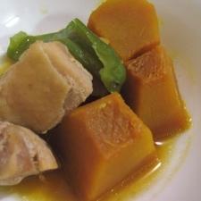 『鶏肉とかぼちゃの煮物』
