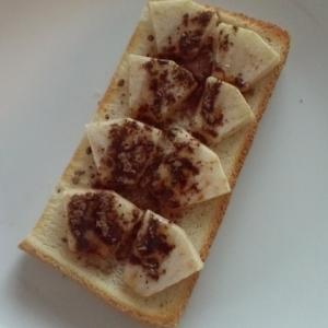 ココア焼きリンゴ☆トースト