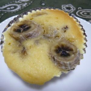 大豆粉、バナナマフィン