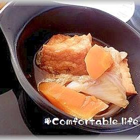 """★""""簡単!白菜と厚揚げの煮物"""