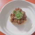 焼き飯納豆ご飯♩