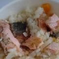 フライパンで簡単♪鮭のシンプルパエリア