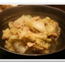 たっぷり白菜を食べよう!白菜とシーチキンの煮物★