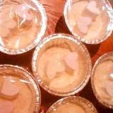 苺のホワイトレアチーズケーキ