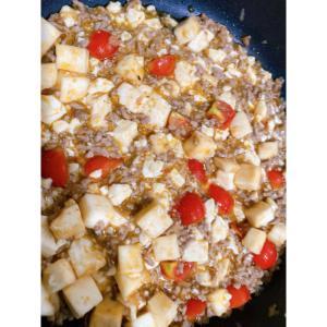 まろやかトマト麻婆豆腐★