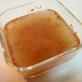 金時豆といちじくジャムの寒天