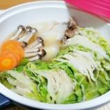 レンジで簡単♡豚肉と白菜のミルフィーユ鍋