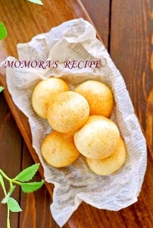 HMとお餅で簡単モチモチチーズパン♡ポンデケージョ