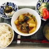 鯖缶を使った鯖大根の味噌煮