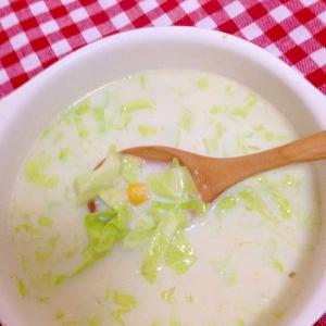 キャベツ&コーンスープ★