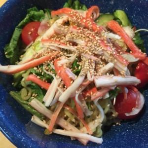 野菜もりもりラーメンサラダ