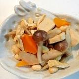 栄養たっぷり便秘解消!高野豆腐入り五目煮豆♪