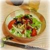 大根と海藻のサラダ