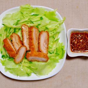 フライドチキンde油淋鶏(ユーリンチー)サラダ