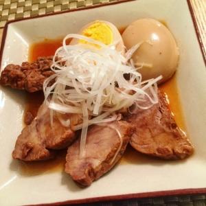 豚肩ロースでヘルシー!中華風焼豚と煮卵