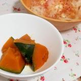 レンジで10分!1番簡単!かぼちゃの煮物