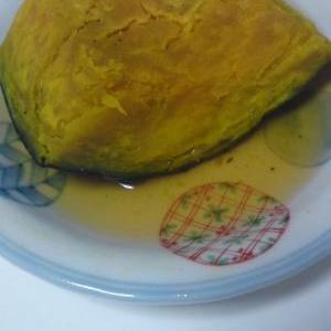 レンジでひとつだけ。冷凍かぼちゃの煮物