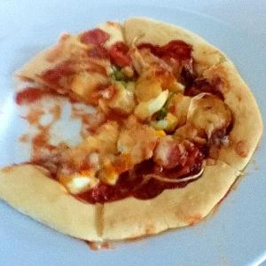 発酵なし!計量カップ計量で薄力粉のふんわりピザ