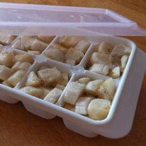 <離乳食>バナナ冷凍保存