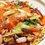 中華麺de皿うどん