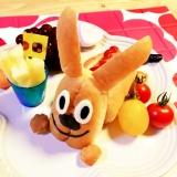☆キャラ弁☆アンパンマンのチーズなホットドッグ☆