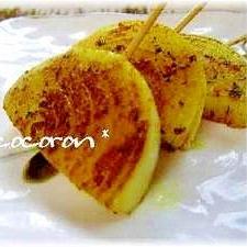 玉葱の串焼き☆カレー風味