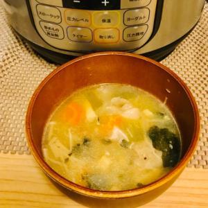 ごまペースト 小松菜 豚汁 インスタントポッド