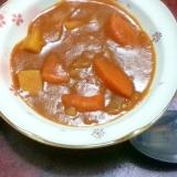 【休肝レシピ】ブロックハムdeトマトカレーシチュー