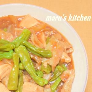 丼にもなる♪ししとう入りでトロミが美味しい肉豆腐☆