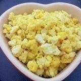 豆腐でヘルシー&かさまし☆卵そぼろ