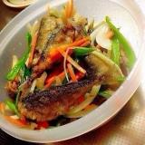野菜たっぷり鯵の南蛮漬け❤︎