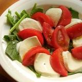 ハーブなしでも❤トマト&モッツァレラチーズのサラダ
