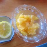甘夏と檸檬デザート