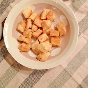 冷凍豆腐のステーキ