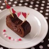 半生ガトーショコラで簡単本格バレンタイン☆材料4個