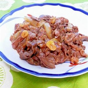 安いお肉でも美味しい~簡単あまから焼肉