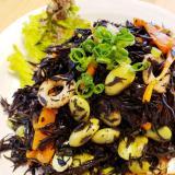 ひじきと枝豆の炒り煮サラダ