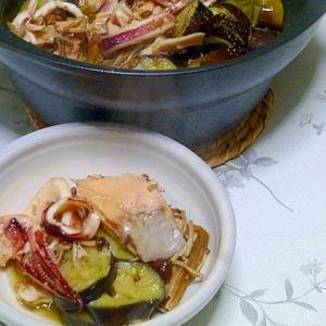 簡単でおいしい♪魚介のオリーブ焼き