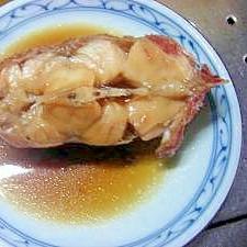 家族に大好評な煮魚