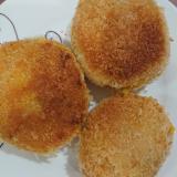 さつま芋とかぼちゃのチーズ入りコロッケ
