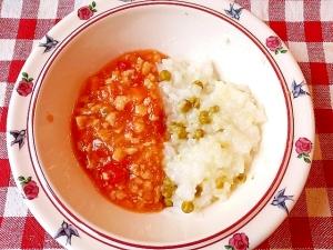 離乳食後期~トマトソースメニュー