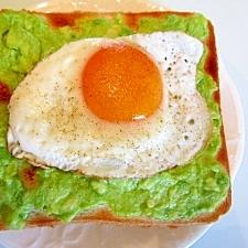 朝食に♡大好きアボカドトースト