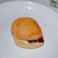 ディナーロールパンで小倉マーガリン