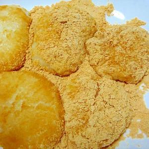 もち米を使って優しい甘さの安倍川餅