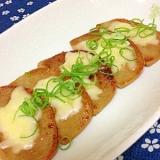静岡ご当地食材☆黒はんぺんのチーズ焼き
