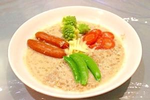 【冷え症 ヘルシー】野菜たっぷりミルクカレースープ
