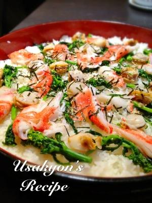 お弁当に★チーマディラーパとホタテのちらし寿司