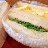 キュウリの旨みが濃厚!サンドイッチ
