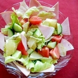 グレープフルーツのサラダ
